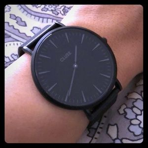Cluse Black/Black Watch